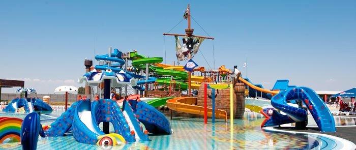 Аквапарк на Азовском море