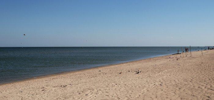 Пляжи на Федотовой косе