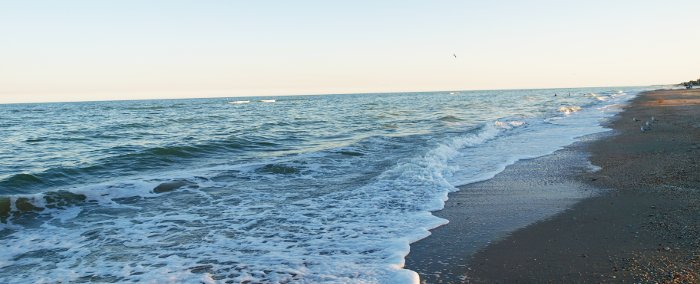 Азовское море на Пересыпи